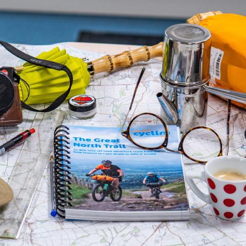 The Great North Trail guide book