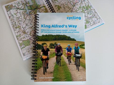 King Alfred's Way guidebook